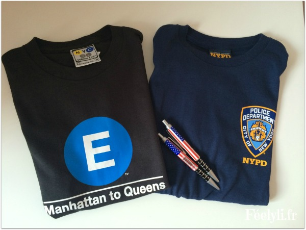 souvenirs new york tee shirt