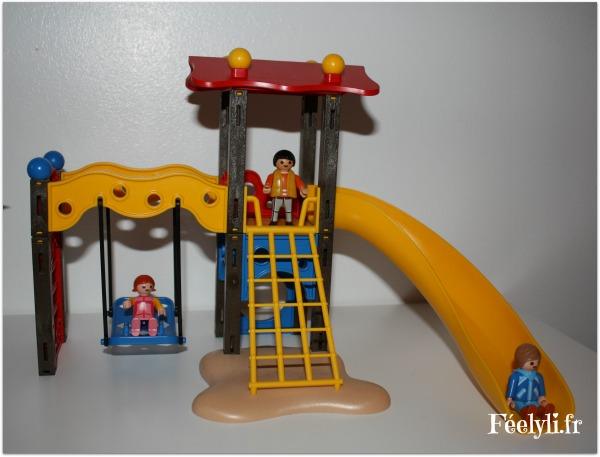 toboggan playmobil 2