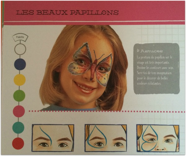 Maquillage papillon