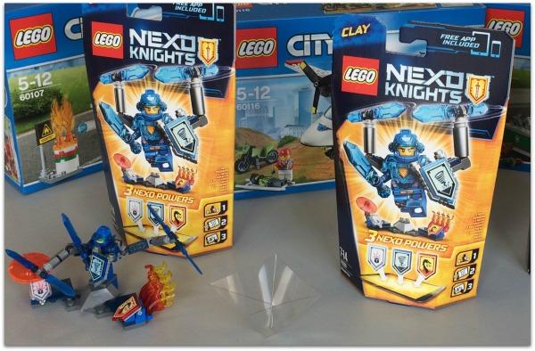 nexo knights nouveautés