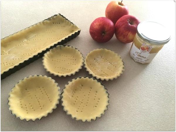 tarte aux pommes au beurre salé