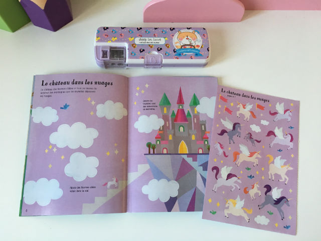 Mes_ petits_ autocollants _Usborne _Les _licornes