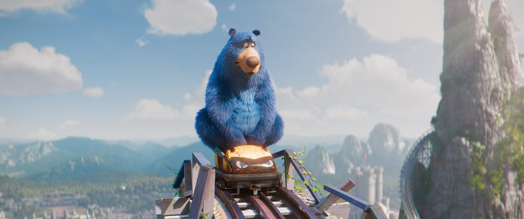 Boomer in a scene from the animated film, WONDER PARK by Paramount Animation and Nickelodeon Movies