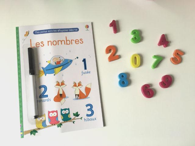 Mes _premières_ activités_ effaçables_ Usborne _ Les _nombres