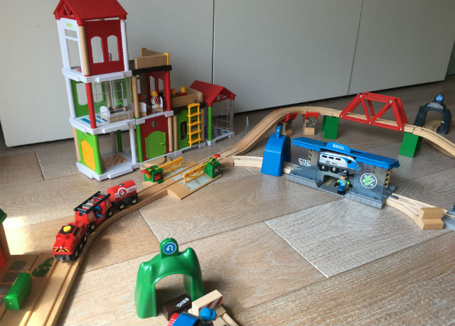 BRIO_Train des pompiers