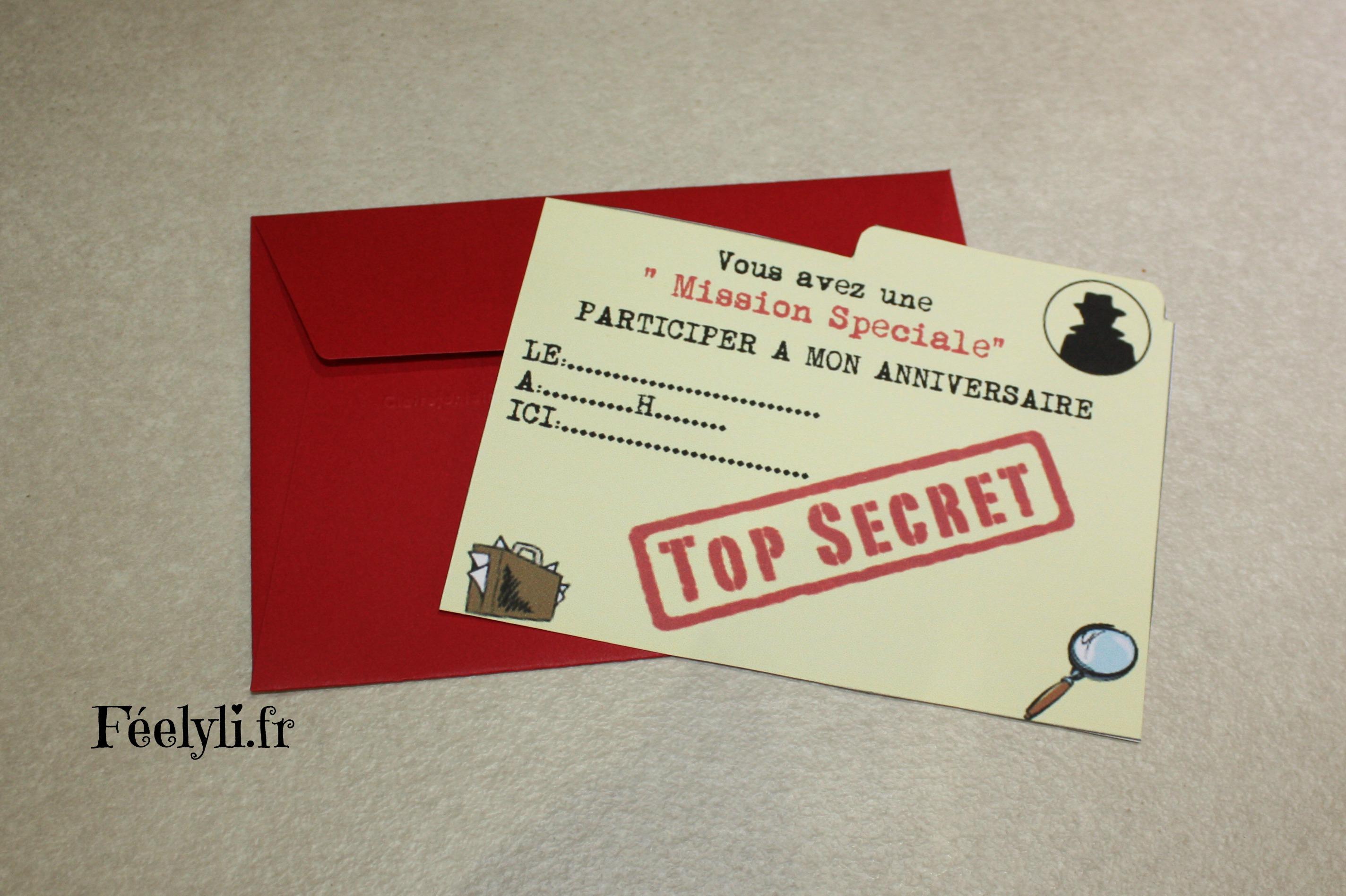 Fantastic Un anniversaire d'agent secret – féelyli QY66