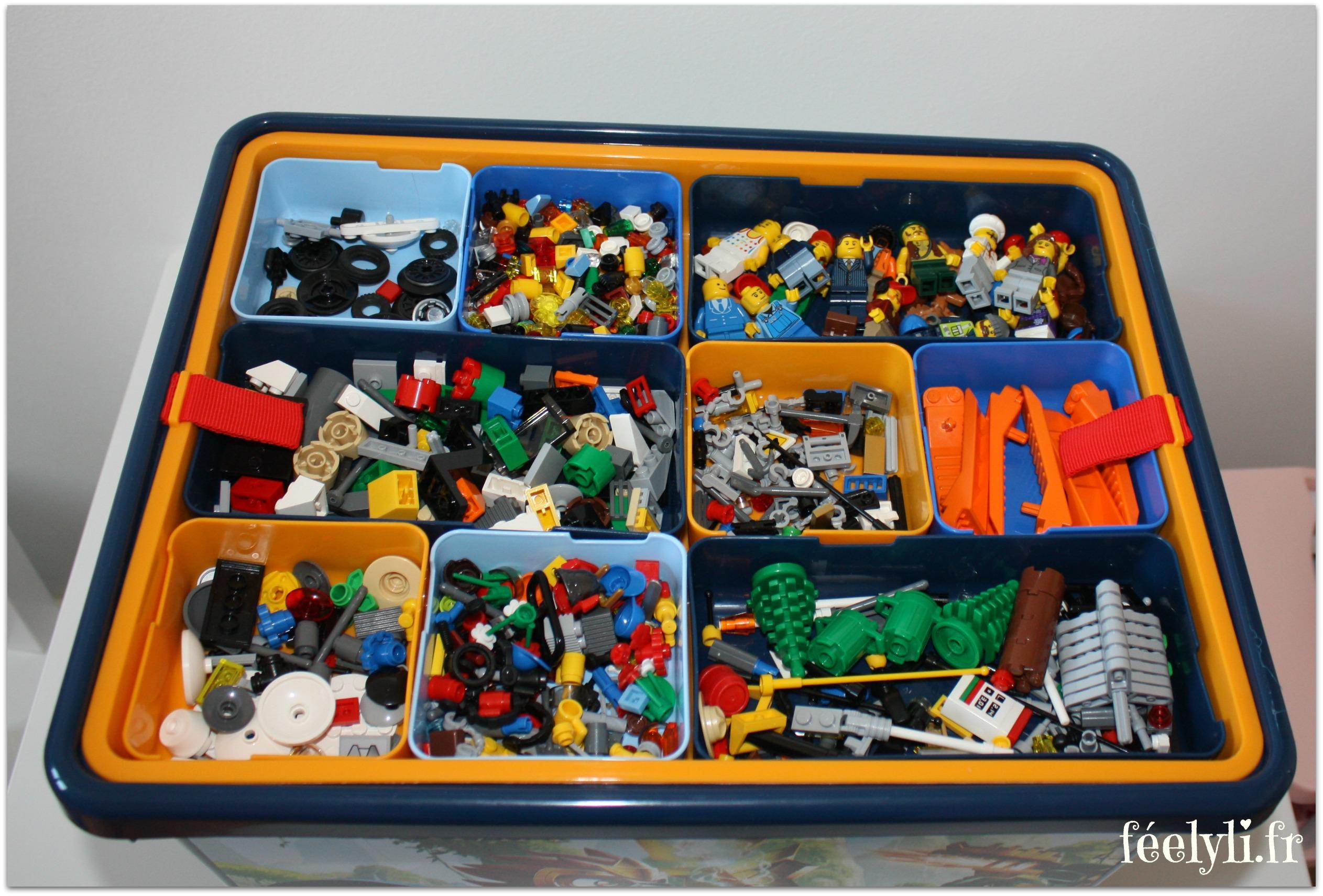 Boite De Rangement Compartiment Pour Lego Venus Et Judes